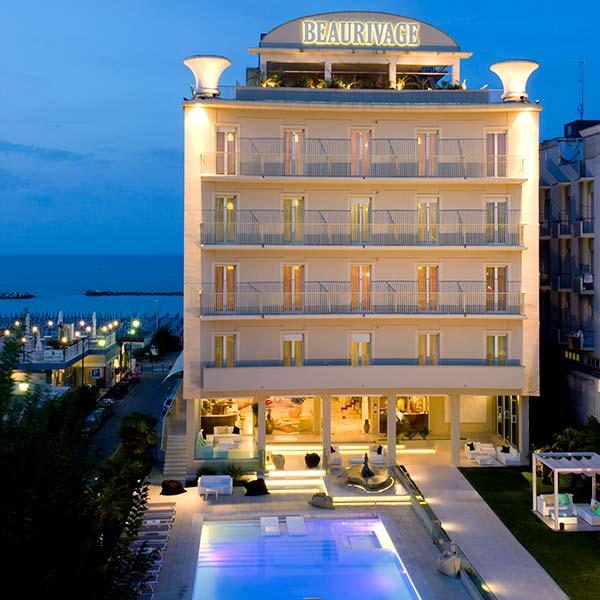 Hotel a Cattolica direttamente sul Mare | Cattolica On The Beach