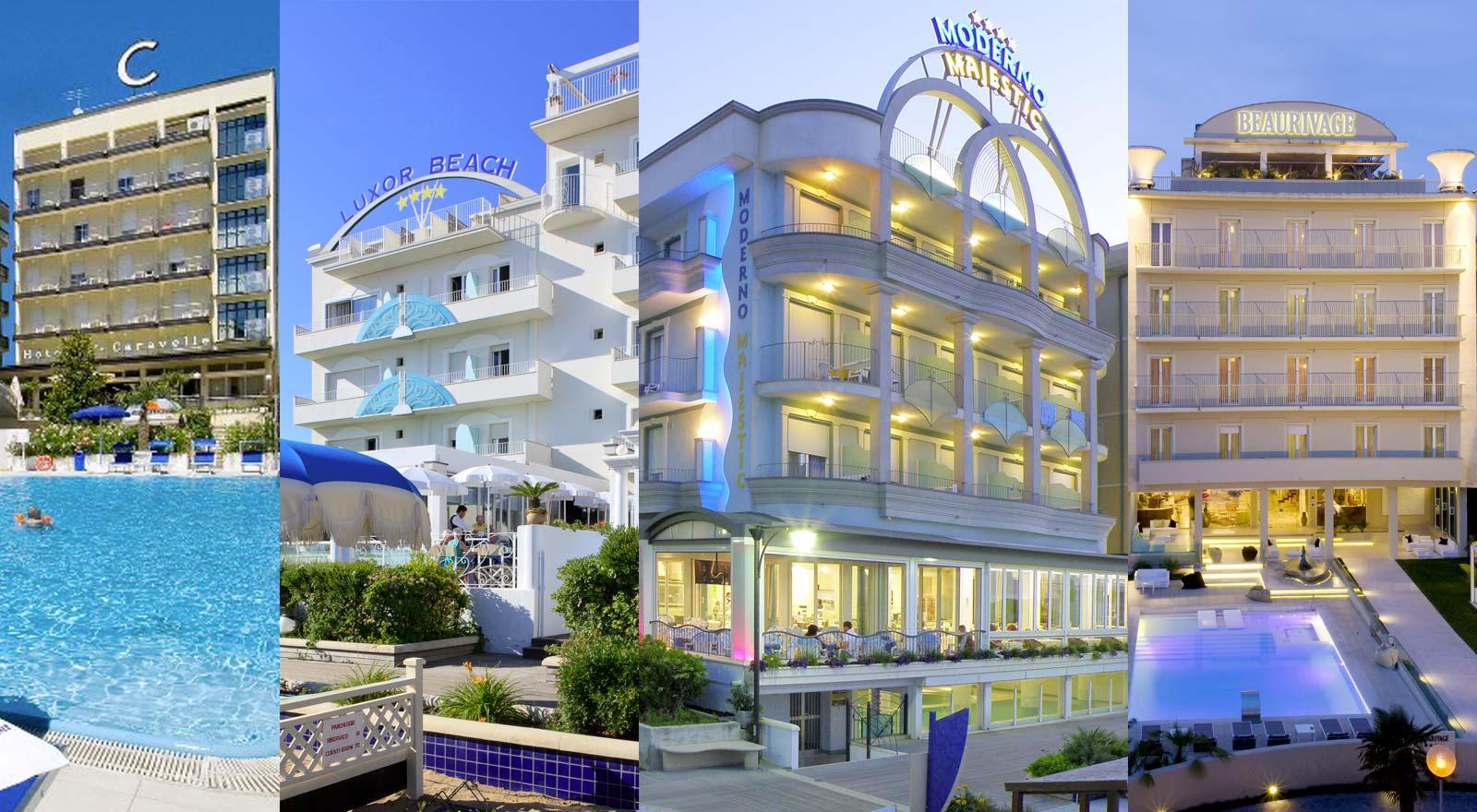 Hotel 4 stelle cattolica con piscina sul mare cattolica - Hotel cervia 4 stelle con piscina ...